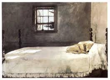 Andrew Wyeth painting