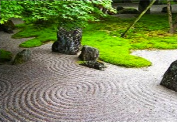 JAPANESE SAND GARDEN