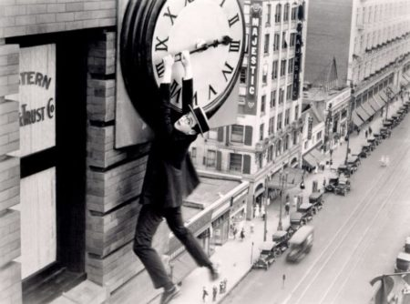 """Safety Last"", Harold Lloyd, 1930"