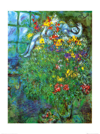 """Le Bouquet Ardent"", Marc Chagall"