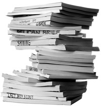 Screenplays-pile