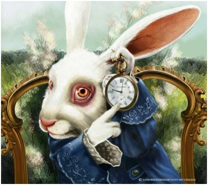 WHITE RABBIT-WATCH
