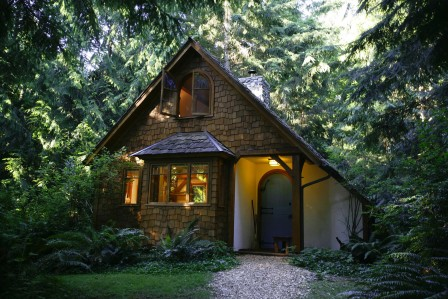 Hedgebrook cottage