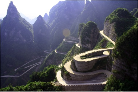 CHINA-WINDING HIGHWAY