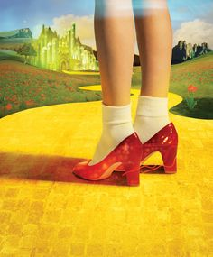 RED SHOES & YELLOW BRICK ROAD