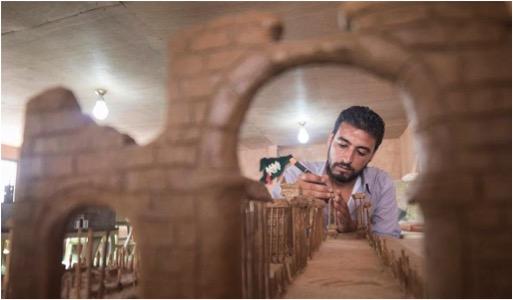 SYRIAN REFUGEE ARTIST