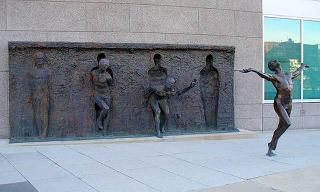 """Freedom"" by Zenos Frudakis"