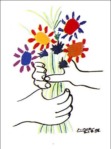 """Picasso, """"Fleurs"""""""