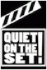 QUIET ON THE SET LOGO
