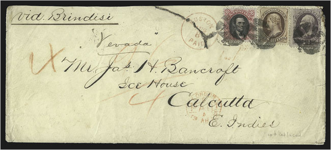 VINTAGE ENVELOPE & STAMP